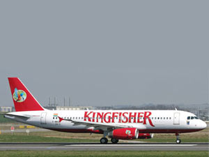 Intl Kingfisher flights to be cancelled
