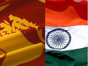 Sri Lanka-India Flag