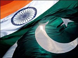 India and Pakistan flag