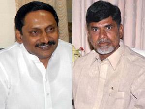 Kiran Kumar Reddy and Chandrababu Naidu