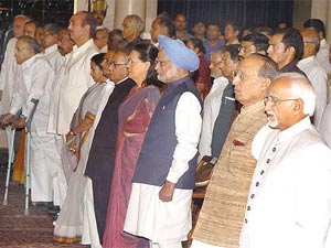 UPA cabinet ministers