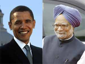 Manmohan Singh and Barack Obama