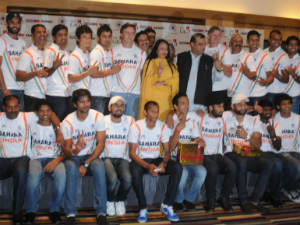 Indian hockey team is felicitated in Bangalore