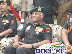 Army Chief General VK Singh