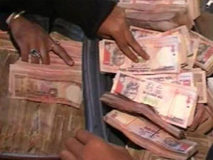 Cash seized in Jharkhand