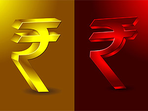 Rupee up by 31 paise against dollar