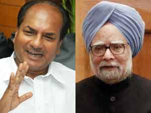 AK Antony and Manmohan Singh