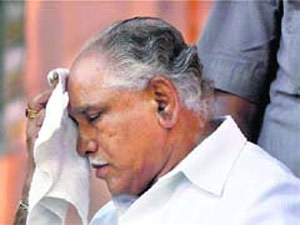 Yeddyurappa feels like a servant in BJP