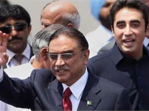 Asif Ali Zardari on India tour