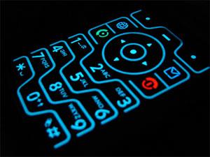 Cell Phone Keypad