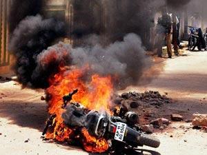 Curfew in Hyderabad