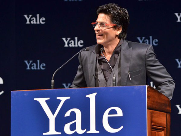 SRK brings much-needed hype for Yale