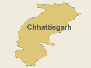 Chhattisgarh map