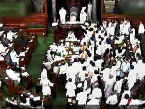 Uproar in Parliament