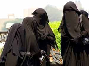 Girls in Burqa