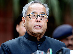 Pranab Mukherjee on IIP recovery