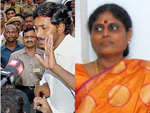 YS Jaganmohan Reddy-YS Vijayalakshmi