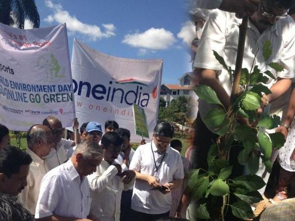 OneIndia's Go Green initiative