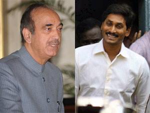 Ghulam Nabi Azad and Jagan