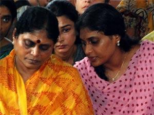 YS Vijayamma-Sharmila