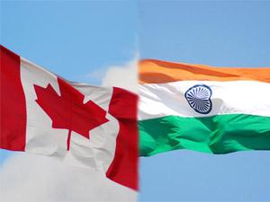 Indo-Canada Flag