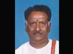 Congress MP H G Ramulu