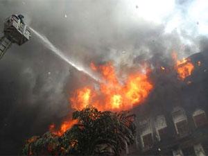 Mantralaya fire