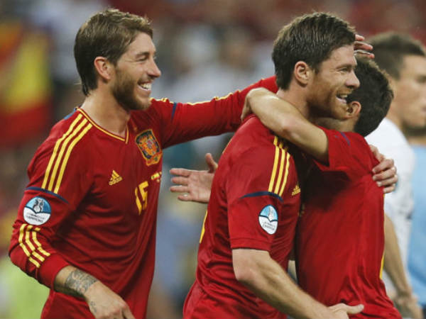 Alonso fires Spain into Euro semi-finals