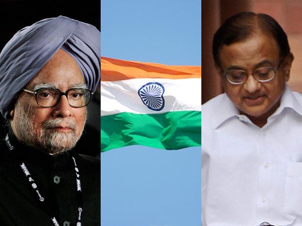 Manmohan Singh P Chidambaram