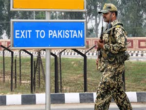 India-Pak border
