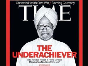 Manmohan Singh in Time magazine