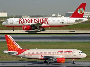 Kigfisher flights