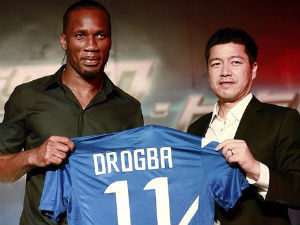China move was not for money: Drogba
