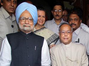 Manmohan Singh-Sonia Gandhi-Pranab Mukherjee