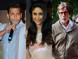 Salman Khan, Kareena Kapoor and Amitabh Bachchan