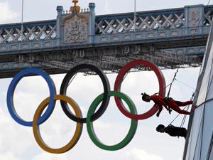 London olympics Rings