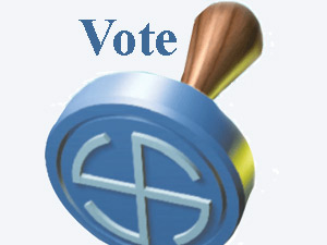 Voting stamp