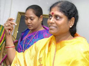 Y.S. Vijaya Lakshmi