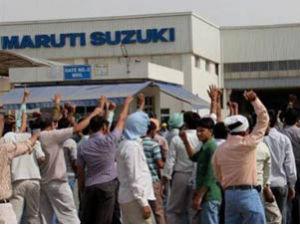 Maruti strike
