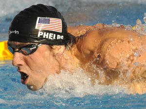 Swimmer Michael Phelps