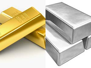 Gold, silver