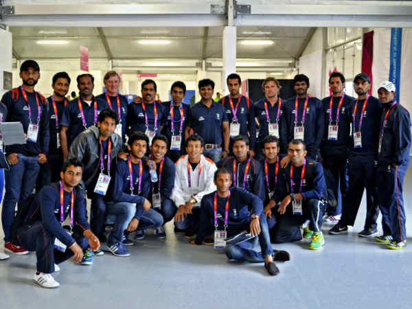 Indian hockey team in London