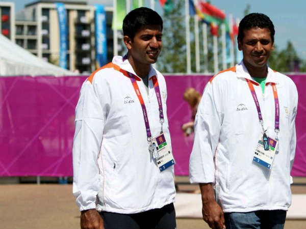 Rohan and Bhupathi