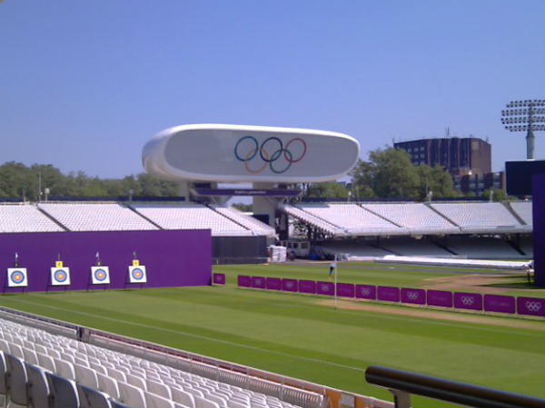 Lord's the venue for archery