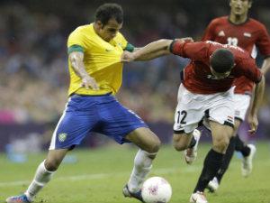 Football: Brazil beat Egypt 3-2