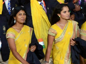 Rushmi-Sania ousted in first round