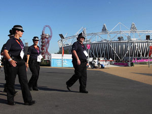 Security force at London Olympics