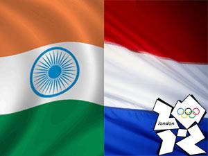 India-Netherland Flag