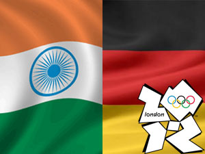 India Germany Flag