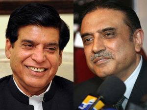 Pak PM with Zardari
